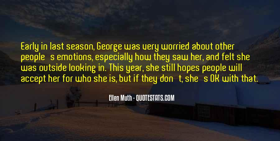 Quotes About Outside Looking In #152195
