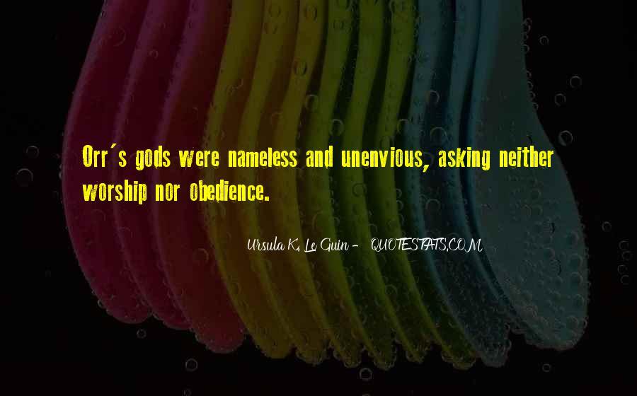 Unenvious Quotes #1662415