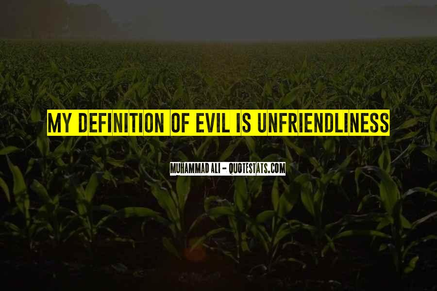 Unfriendliness Quotes #209645