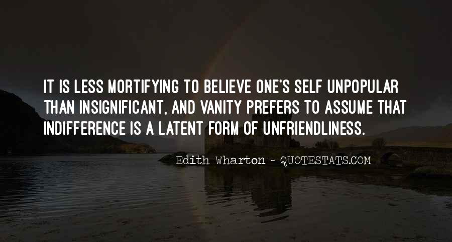 Unfriendliness Quotes #791694