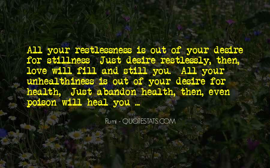 Unhealthiness Quotes #1307376