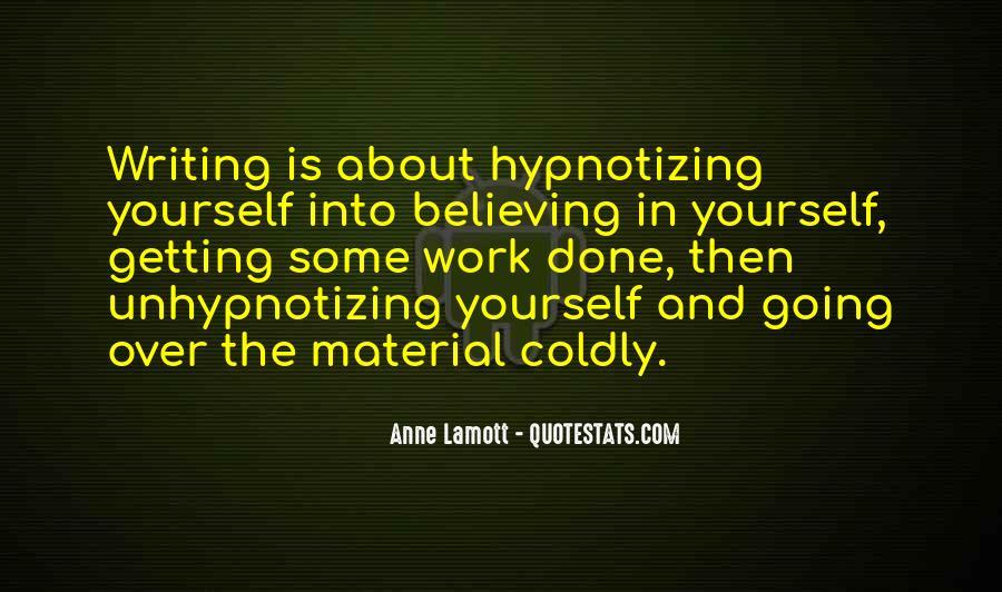 Unhypnotizing Quotes #710211