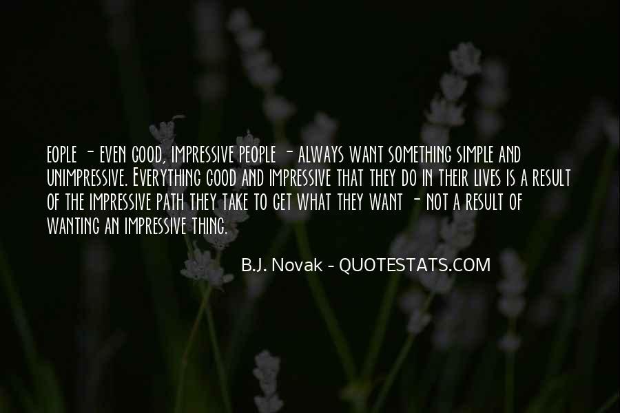 Unimpressive Quotes #1387129