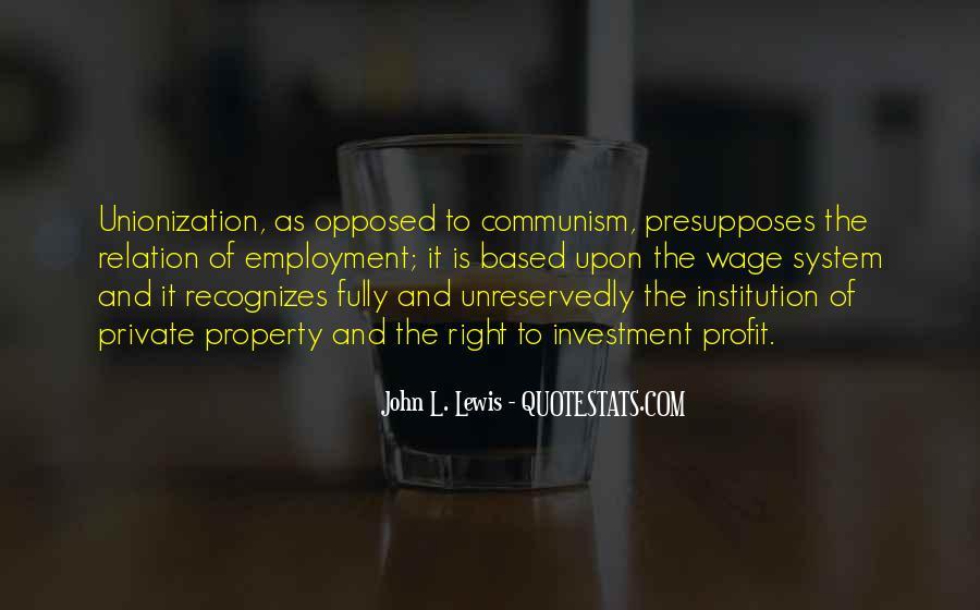 Unionization Quotes #325928