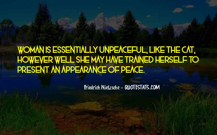 Unpeaceful Quotes #78913