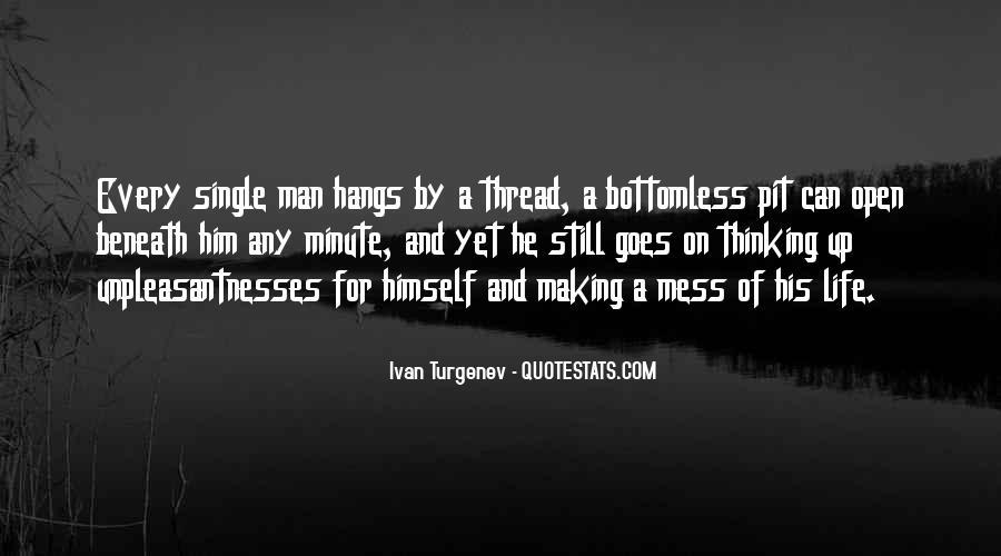 Unpleasantnesses Quotes #543795