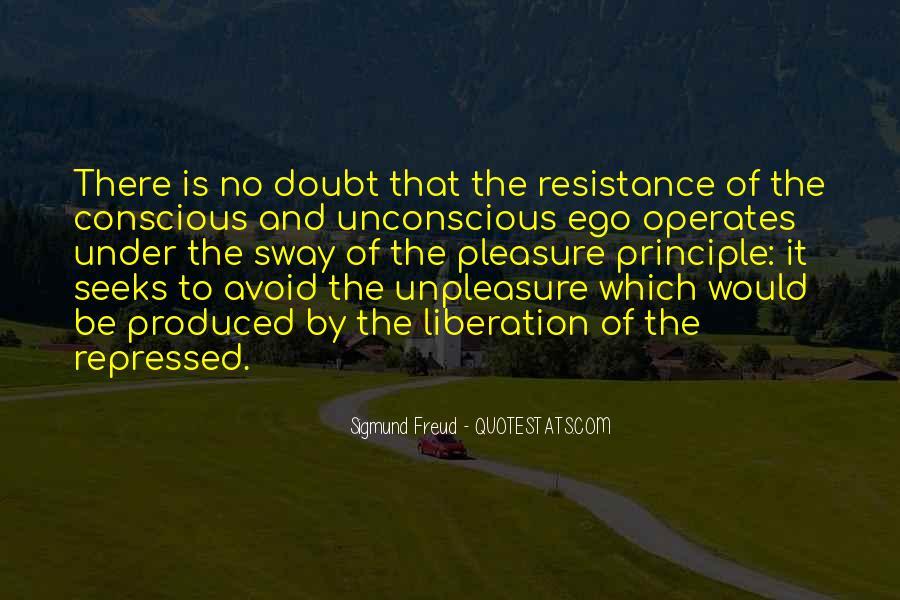 Unpleasure Quotes #136690