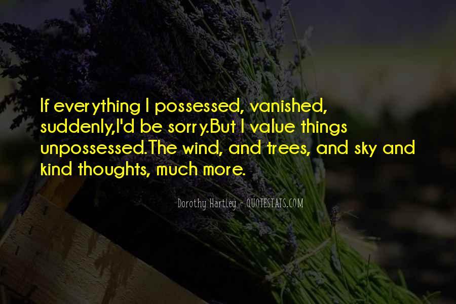 Unpossessed Quotes #1035348
