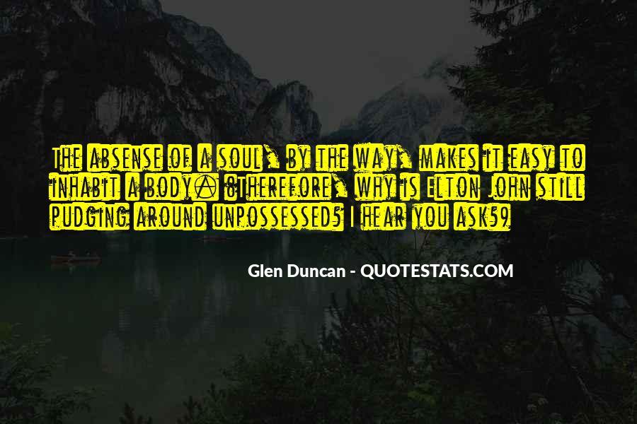 Unpossessed Quotes #512216