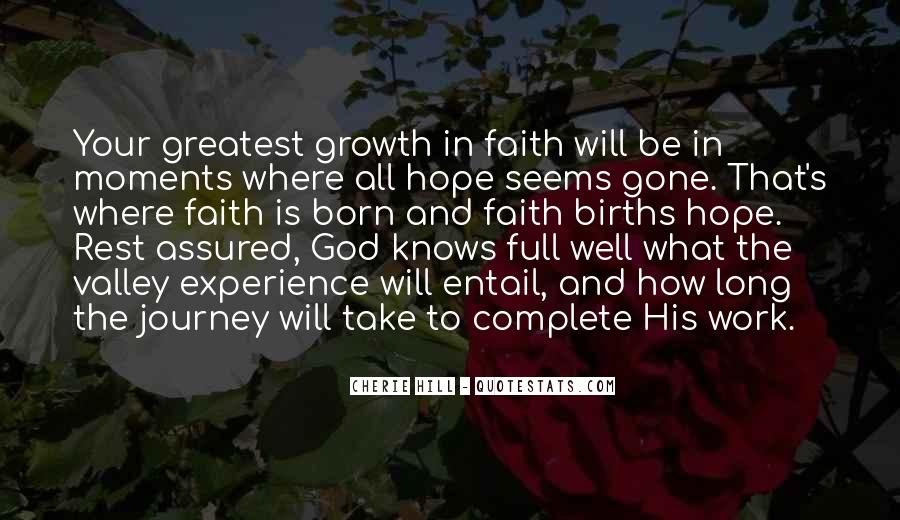 Quotes About Journey And Faith #1334044