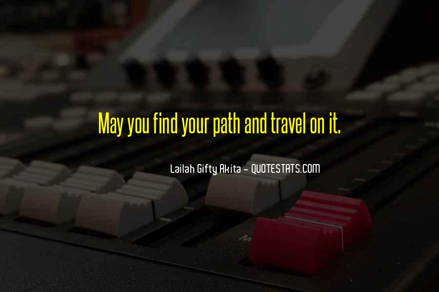 Quotes About Journey And Faith #1371219