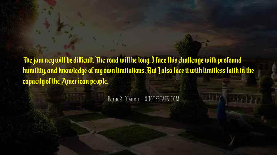 Quotes About Journey And Faith #1477101