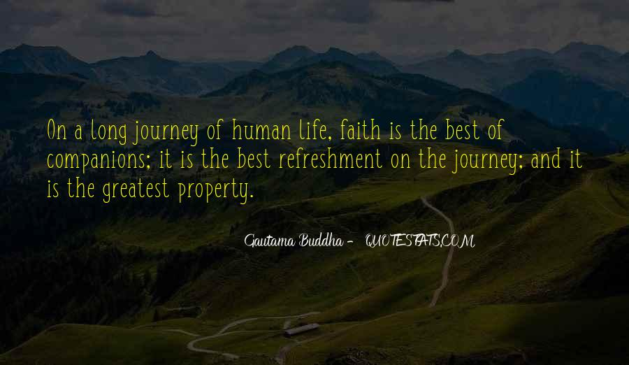 Quotes About Journey And Faith #388119