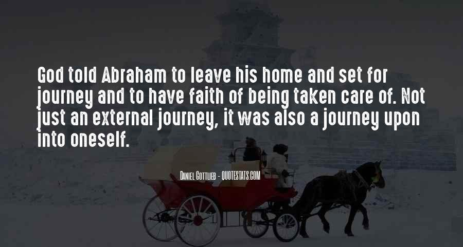 Quotes About Journey And Faith #999636