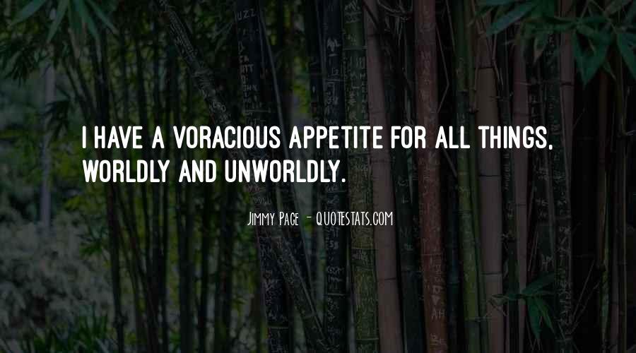 Unworldly Quotes #654602