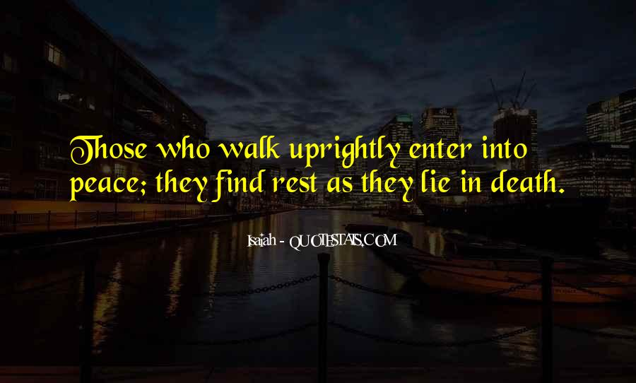 Uprightly Quotes #1613642