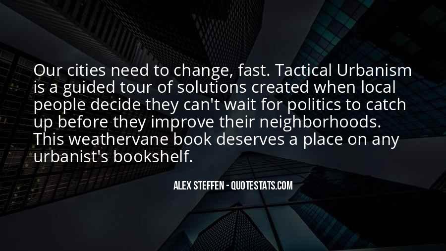 Urbanist's Quotes #409279