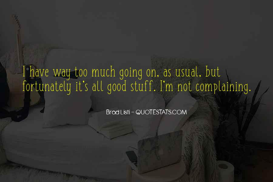 Usual's Quotes #580232
