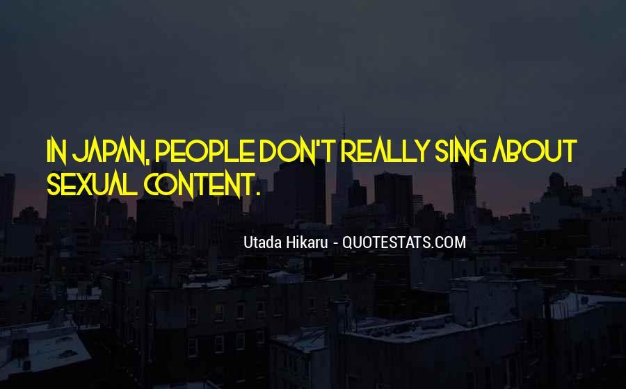 Utada Quotes #453969