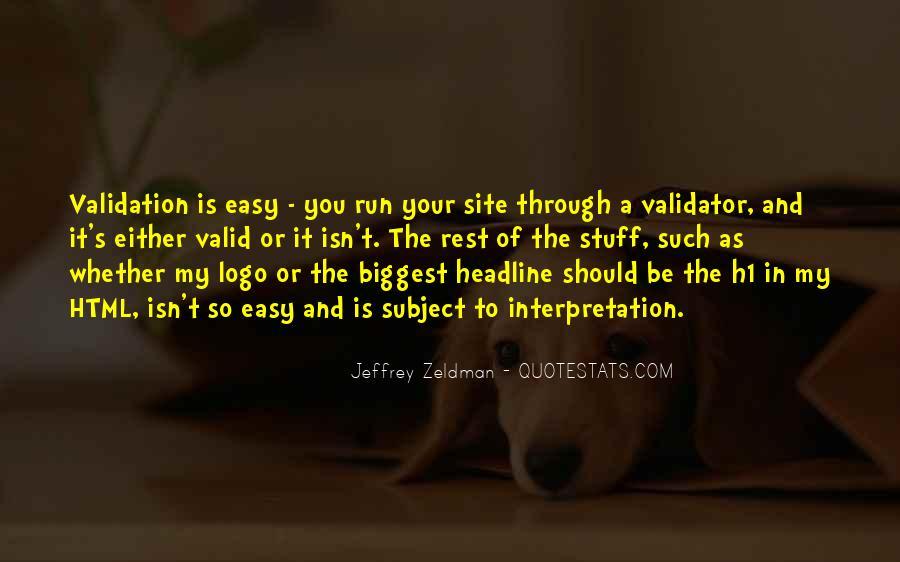 Validator Quotes #927854