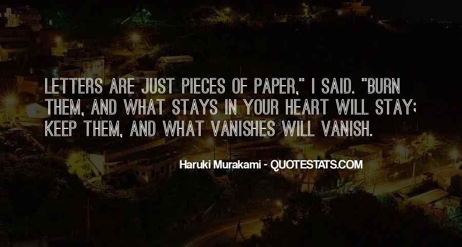 Vanishes Quotes #228257