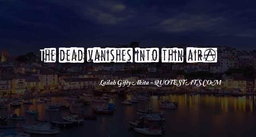 Vanishes Quotes #332061