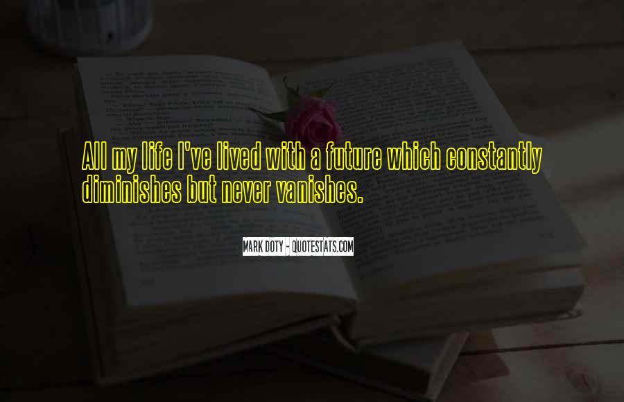 Vanishes Quotes #48958
