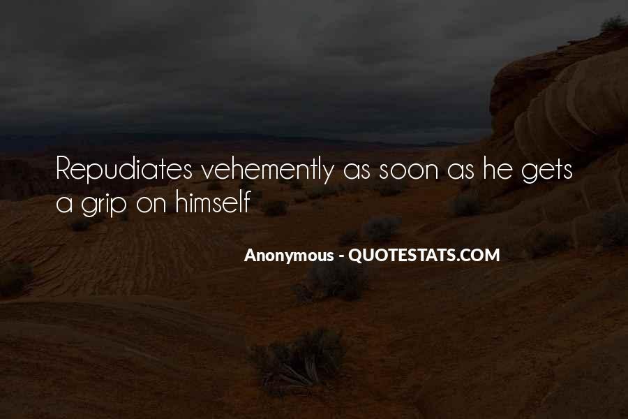 Vehemently Quotes #1098270