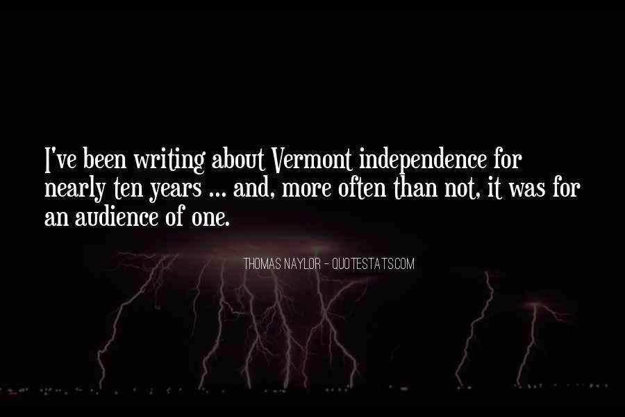 Vermont's Quotes #103432