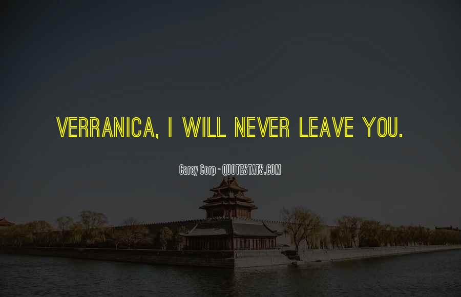 Verranica Quotes #415907