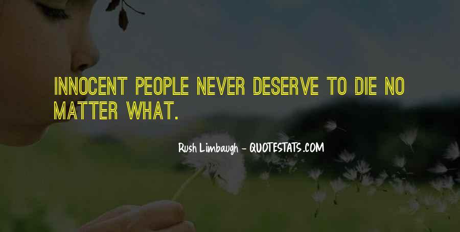 Quotes About Deserve #11097