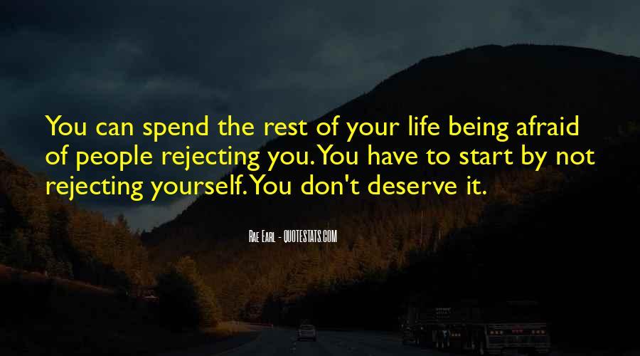 Quotes About Deserve #19791