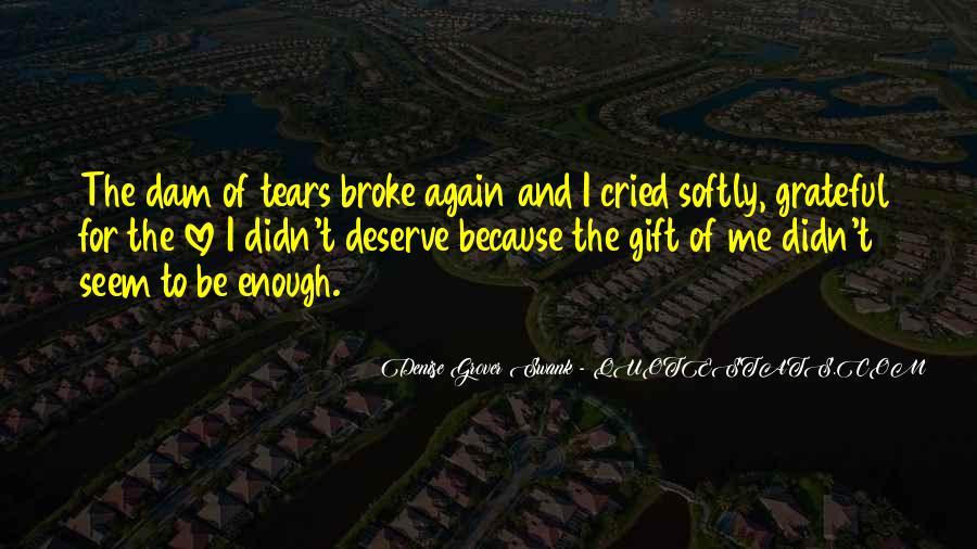 Quotes About Deserve #20237