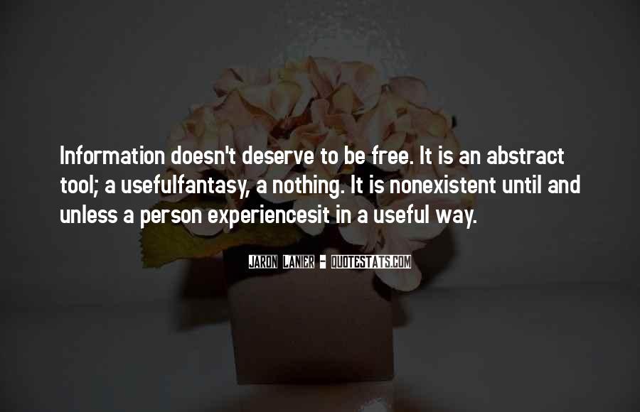 Quotes About Deserve #26738