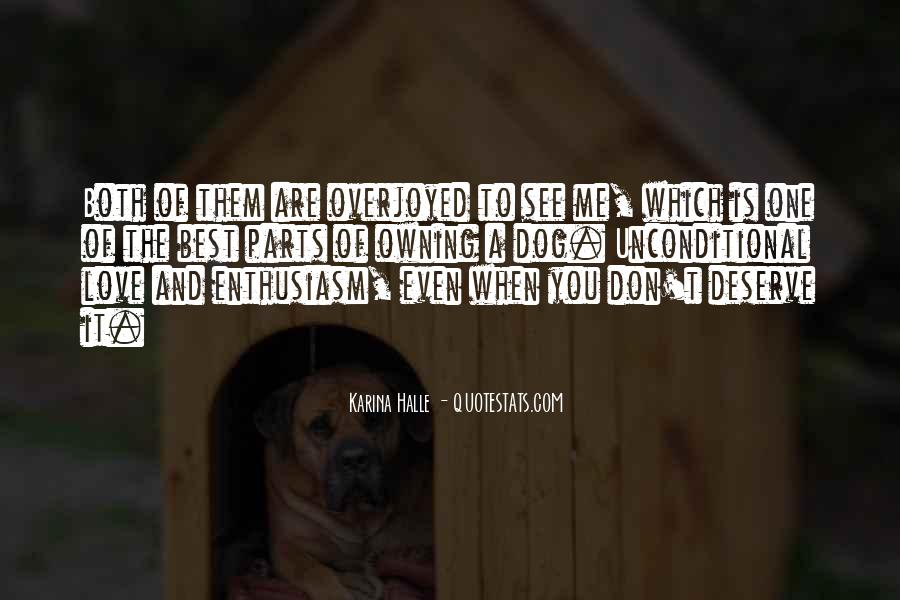 Quotes About Deserve #31532