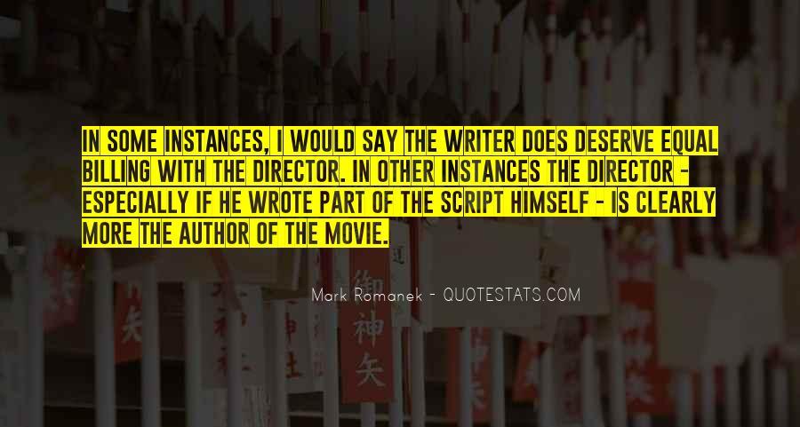 Quotes About Deserve #34671