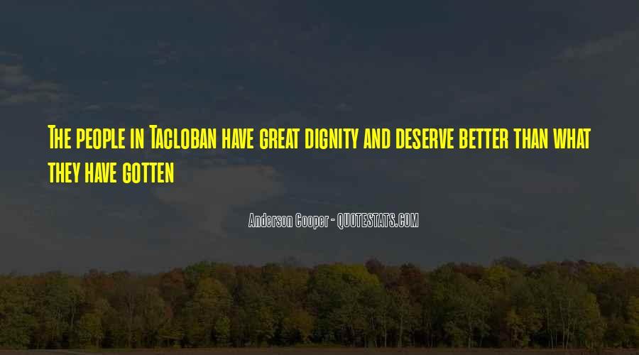 Quotes About Deserve #45409