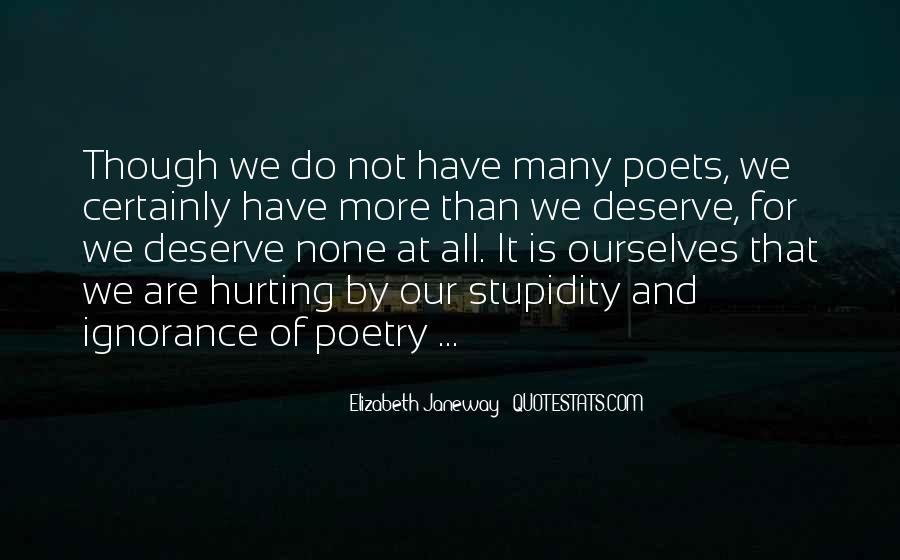 Quotes About Deserve #58186