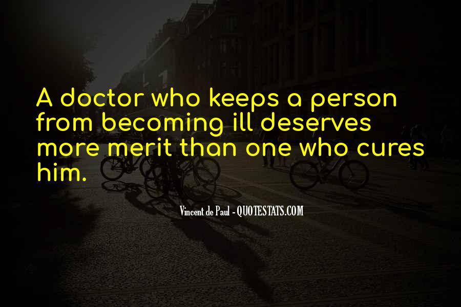 Quotes About Deserve #61537