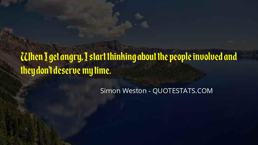 Quotes About Deserve #64171
