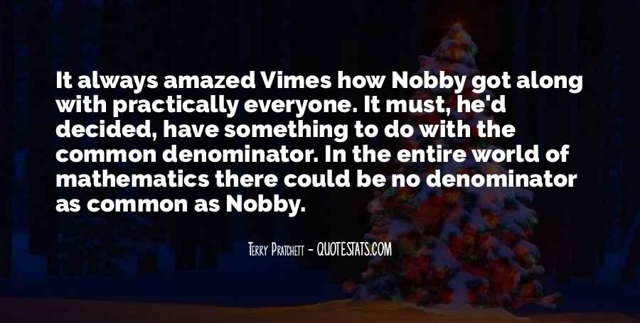 Vimes's Quotes #11256
