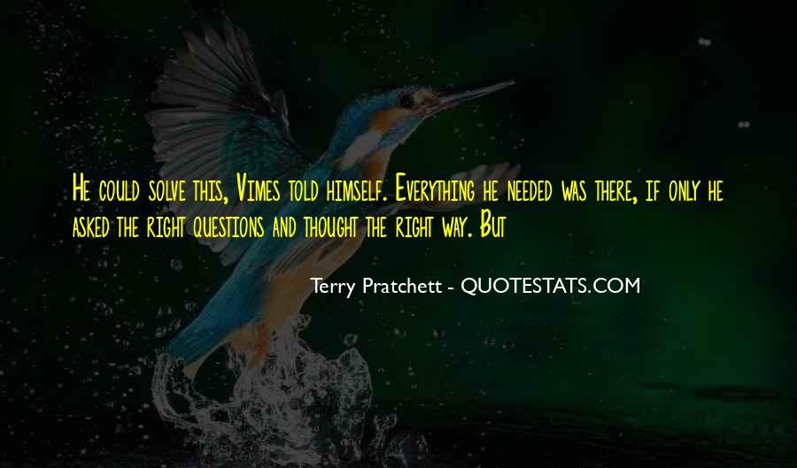 Vimes's Quotes #727969