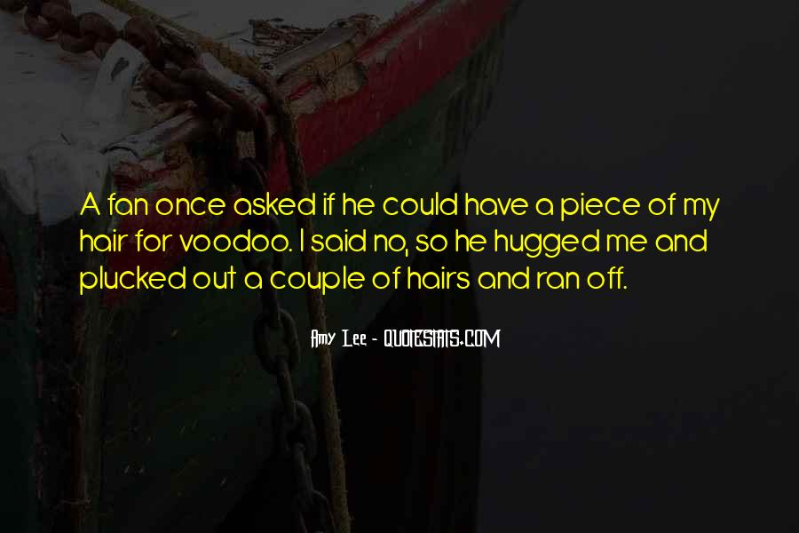 Voodoo's Quotes #1240512