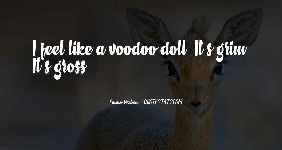 Voodoo's Quotes #1565423