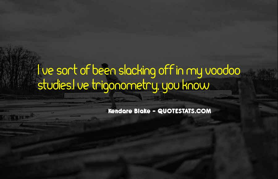 Voodoo's Quotes #830274