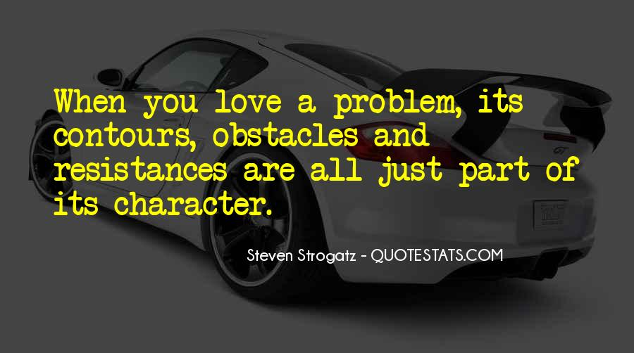 Quotes About Character And Love #168395