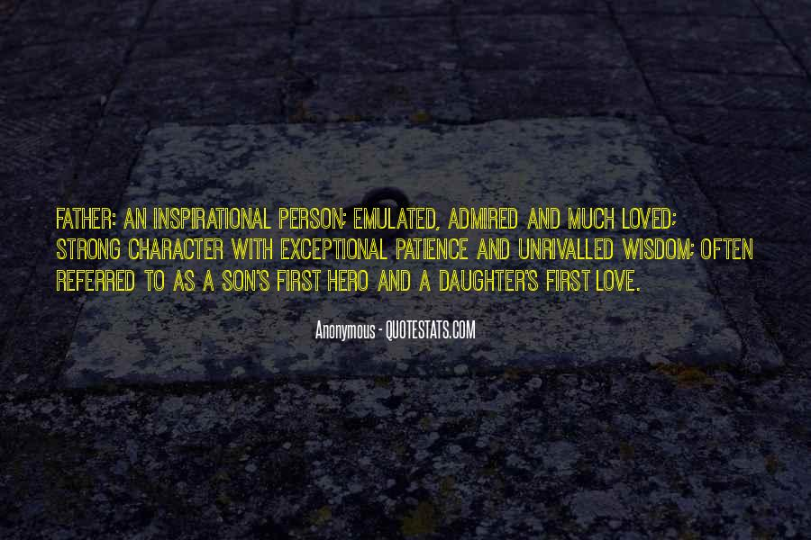 Quotes About Character And Love #177133