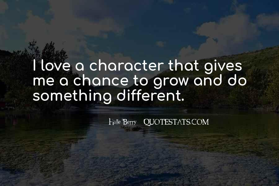 Quotes About Character And Love #216388