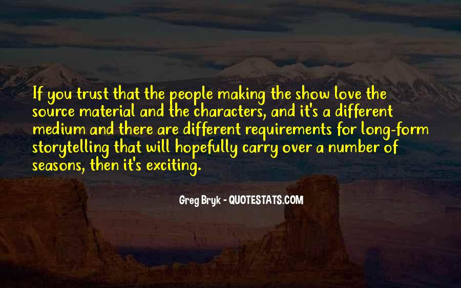Quotes About Character And Love #217745