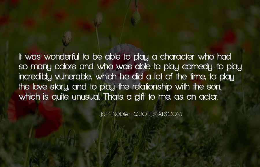 Quotes About Character And Love #225088